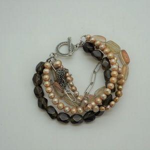 Silpada Copper Tassel Bracelet